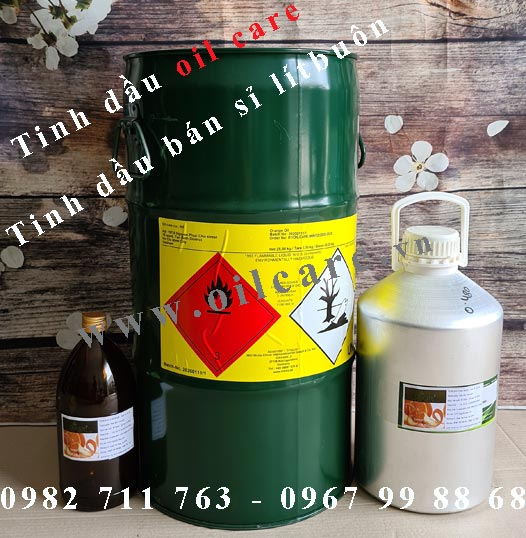 Bảng giá tinh dầu thiên nhiên mẫu thử
