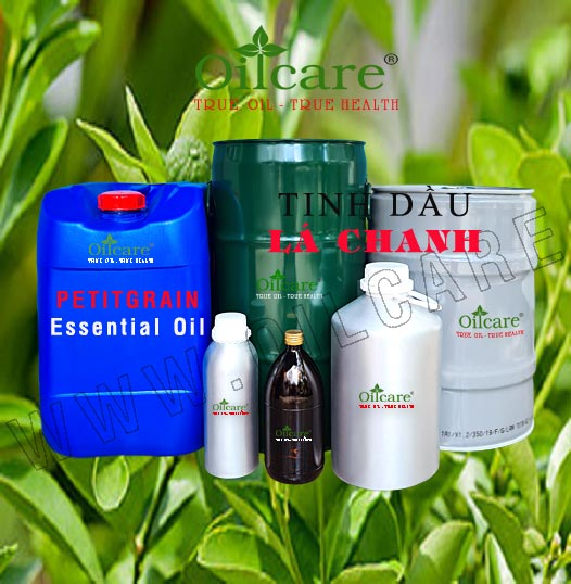 Tinh dầu lá chanh bán sỉ lít kg buôn giá rẻ Petitgrainessential oil mua ở đâu