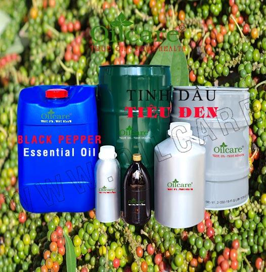Tinh dầu tiêu đen bán sỉ kg buôn lít giá rẻ Peper Black essential oil mua ở đâu
