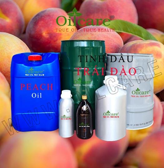 Tinh dầu trái đào bán sỉ lít kg buôn giá rẻ peach frangrance oil mua ở đâu